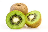 Two kiwi slices