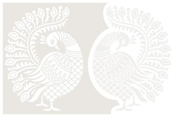 Designer peacock
