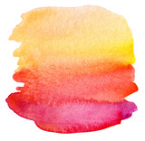Fototapety Abstract watercolor painted background