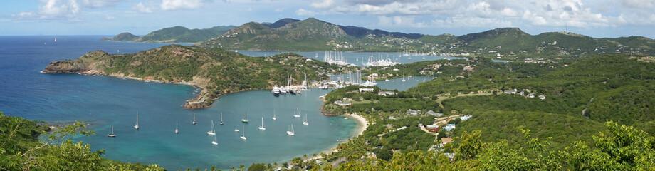 English Harbour und Nelsons Dockyard, Antigua, Karibik