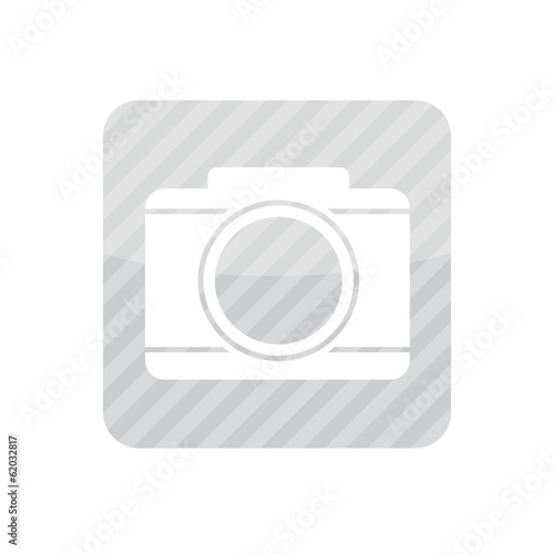 White Camera Icon