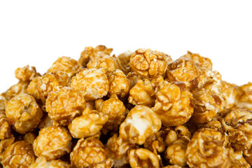 lots of popcorn balls with sugar