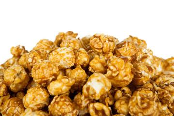 lots of popcorn balls with sugar