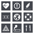 Icons for Web Design and Mobile Applications set 9
