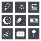 Icons for Web Design and Mobile Applications set 8