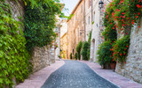 Vicolo con fiori, Assisi