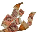 UK fifty pound notes - 62033884