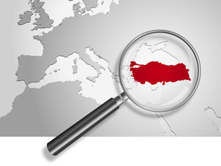 Landkarte *** Türkei