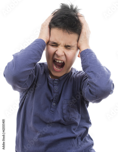 Child Suffering Headache