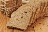 Sprouted grain and seed bread