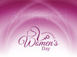 elegant background for women's day.
