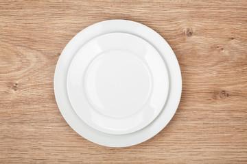 Empty plates