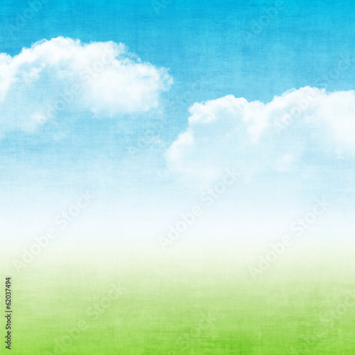 Grunge abstract summer background