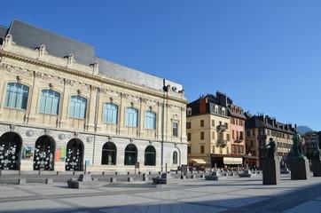 Chambéry, place du palais de justice