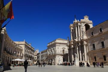 Siracusa - Piazza duomo - Isola di Ortigia