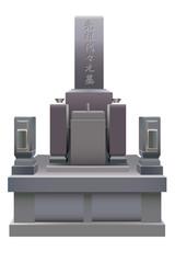 墓のイラスト