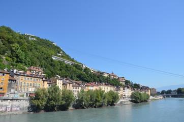 La Bastille, Grenoble, vue générale