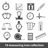 measuring icons