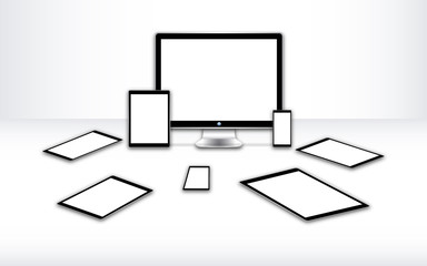 3d white screen devices