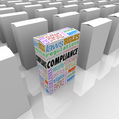 Compliance Unique Box Product Competitive Advantage Safest Secur