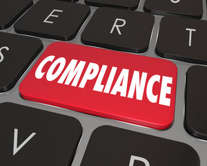 Compliance Computer Key Button Keyboard Online Website Informati