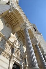Basilique Notre Dame de Fourvière, Lyon, détail
