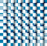 Vector Seamless geometric pattern blue colorful repeating textur