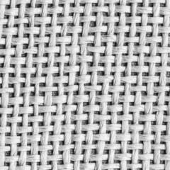 white-black background of interwoven plastic ribbons
