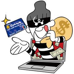 スキミング泥棒