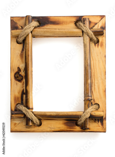 photo frame on white