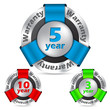 Guarantee insignia set of 3