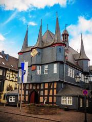 Frankenberg Eder, das 10-türmige Rathaus erbaut 1509