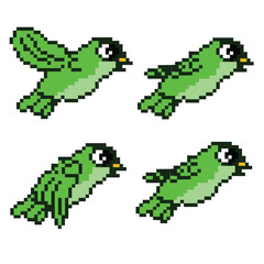 Flying Bird Animation Sprite