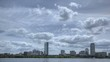 HDR Time lapse Boston Skyline Charles River