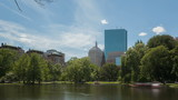 Time lapse Boston Public Garden