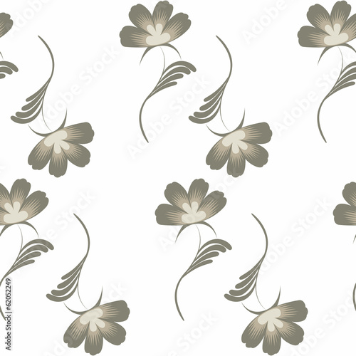 small flowers seamless pattern