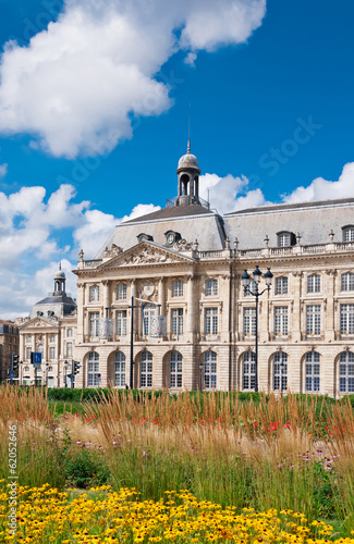 Palais de la Bourse located at Bordeaux, France