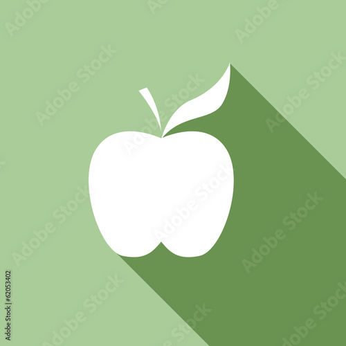 Vector logo apple
