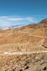 Old Toll Road landscape in Death Valley