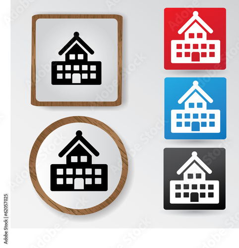 Building sign,vector