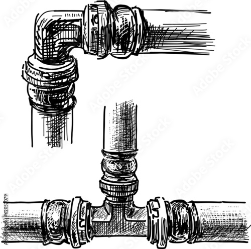 connection of pipes