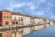 Cesenatico, seaside town in Emilia Romagna, Italy