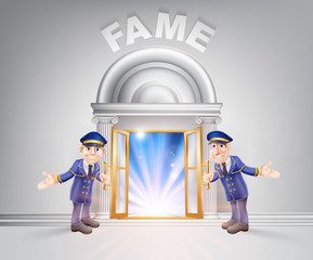 Door to Fame and Doormen