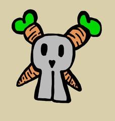 carrots bones