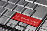 Computer key - Half year results