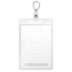 Plastic Badge For Person Identification.