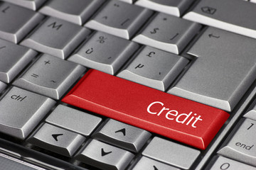 computer key - Credit