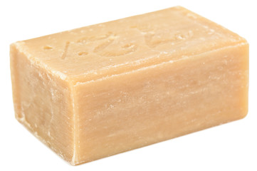 piece of brown soap