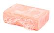 Leinwanddruck Bild - piece of soap and foam