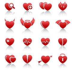 Heart Icons & Symbols.